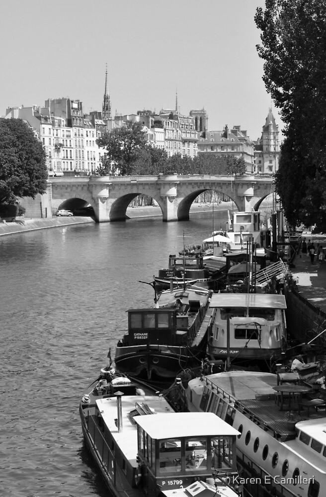Living on the Seine by Karen E Camilleri