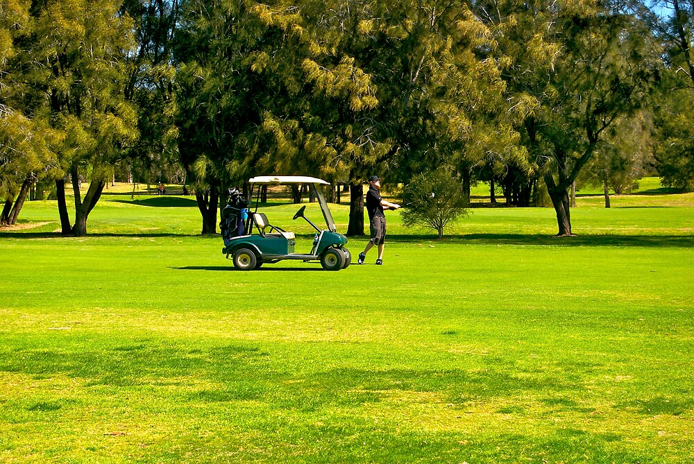Golfing by tano