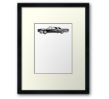 1962 Cadillac Coupe Framed Print