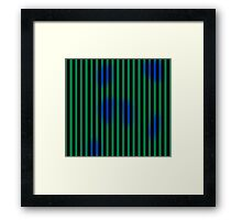 March Hare Stripes Framed Print