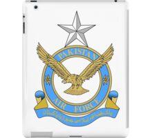 Emblem of Pakistan Air Force  iPad Case/Skin