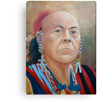 Chief Cornstalk Canvas Print