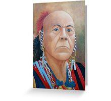 Chief Cornstalk Greeting Card