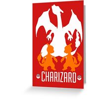 Charizard Standard Greeting Card