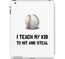 Hit And Steal Baseball iPad Case/Skin