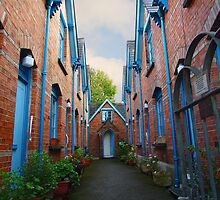 Almshouses, Padstow by Mark Wilson