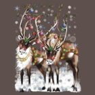 Merry Christmas Reindeer by Lotacats