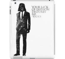 Darth Vader Fashion Sense iPad Case/Skin