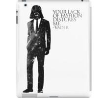 Darth Vader Fashion Sense iPad Case/Skin