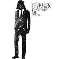 Darth Vader Fashion Sense Photographic Print