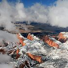 First Snow on Kolob by Randy Weekes