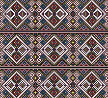 Eastern European Ornamental Pattern by solnoirstudios