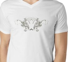 duplicate Mens V-Neck T-Shirt
