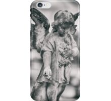 Child Stone Angel iPhone Case/Skin