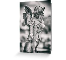 Child Stone Angel Greeting Card