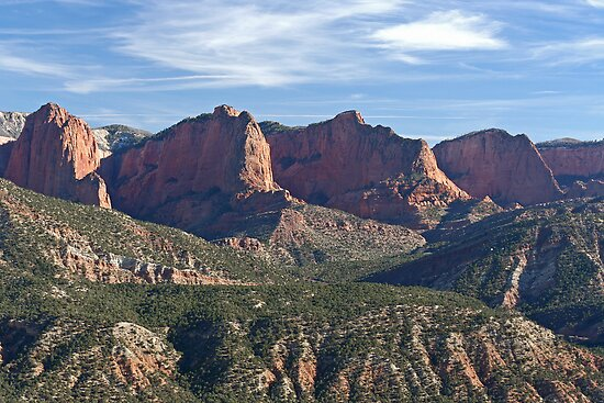 Kolob Fingers (Front View) by Randy Weekes