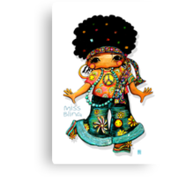 Miss Bling Canvas Print