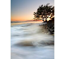 Alone against the Tides Photographic Print