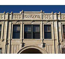 Grove Arcade, Asheville NC Photographic Print
