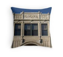 Grove Arcade, Asheville NC Throw Pillow