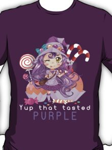 Yup that tasted purple - Lulu T-Shirt