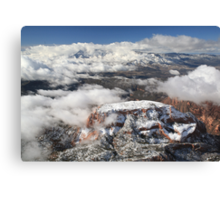 Snow on Kolob Canvas Print
