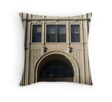 Grove Arcade Detail, Asheville NC Throw Pillow