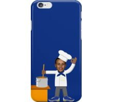 Chef Curry with the Pot, Boy! V.2 iPhone Case/Skin