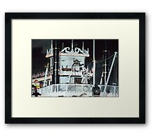 Disney Steamboat Willie Disney Steamboat Mickey Mouse  Framed Print