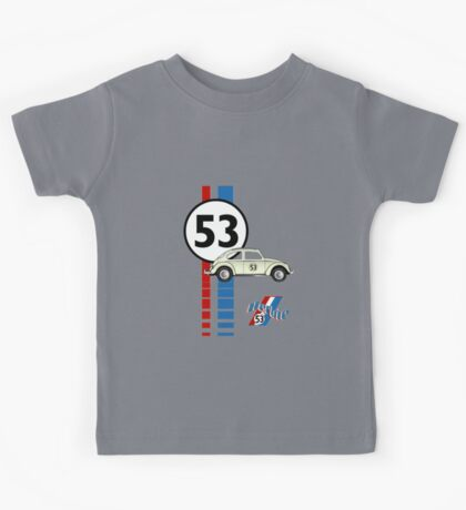53 VW bug beetle bug Kids Tee