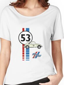 53 VW bug beetle bug Women's Relaxed Fit T-Shirt