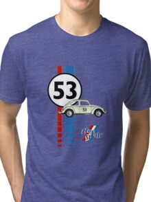 Herbie 53 VW bug beetle Tri-blend T-Shirt