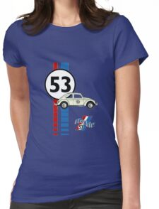 53 VW bug beetle bug Womens Fitted T-Shirt