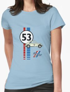Herbie 53 VW bug beetle Womens Fitted T-Shirt