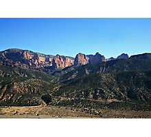 The Fingers of Kolob  Photographic Print