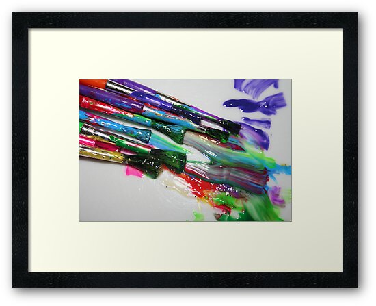 Rainbow of Colour 2 by Catherine Tranter