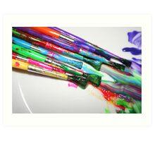 Rainbow of Colour Art Print