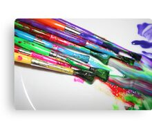 Rainbow of Colour Canvas Print
