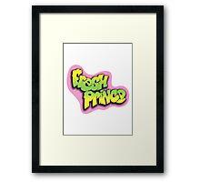 fresh prince  Framed Print