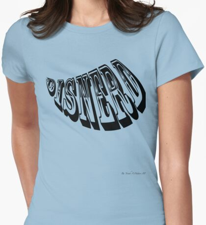 Disnerd Womens Fitted T-Shirt
