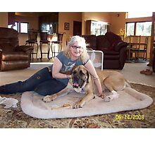 Alexa & Zoe Photographic Print