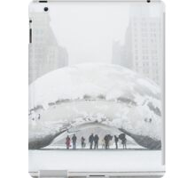 Bean Covered in Snow iPad Case/Skin