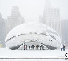 Bean Covered in Snow by anjoaguilar
