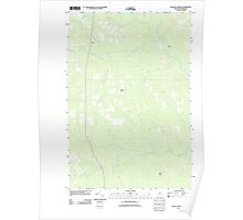 Maine USGS Historical Map McNally Ridge 20110909 TM Poster