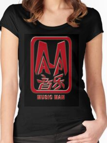Music Man Chop T-Shirt Women's Fitted Scoop T-Shirt