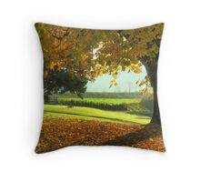 Back Nine Throw Pillow