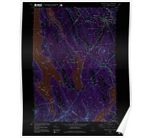 Maine USGS Historical Map Mechanic Falls 102736 1995 24000 Inversion Poster