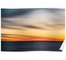 Californian Sunset Poster
