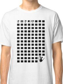 Ninja Bunny Blocks Classic T-Shirt