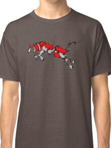 Red Voltron Lion Cubist Classic T-Shirt